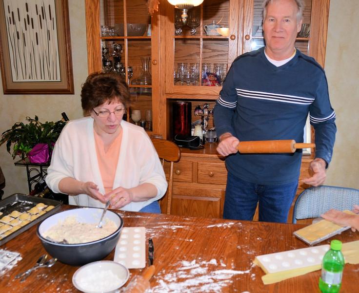 Annette & Clark filling