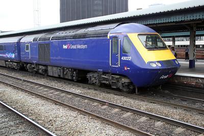 43022 Paddington-Bristol