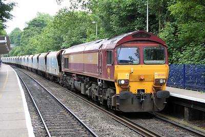 59202  1035/7A09 Merehead-Acton Jumbo Train.