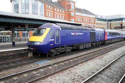 43026 Paddington-Bristol.