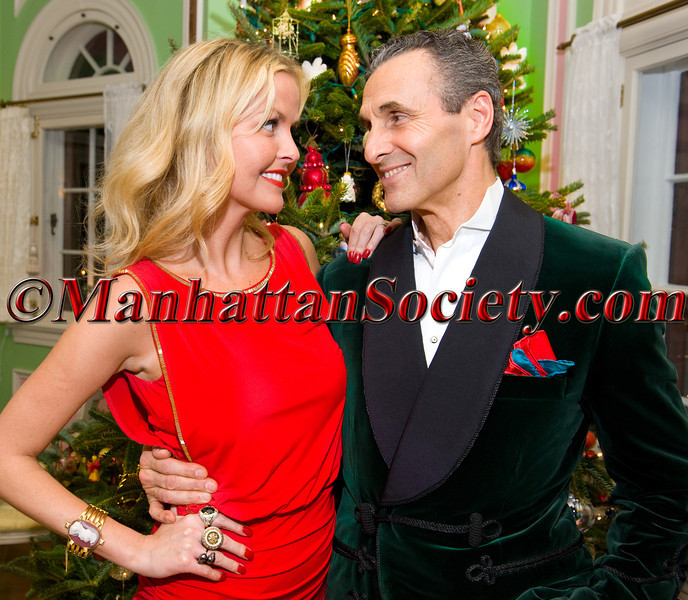 Barbara Regna & Peter Regna host 'Holiday Havoc' on Saturday, December 22, 2012 at Villa Regna Estate in historic Tuxedo Park, New York (Photos by Gregory Partanio ©2012 ManhattanSociety.com)