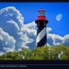 St Augustine Lighthouse Florida Postcard