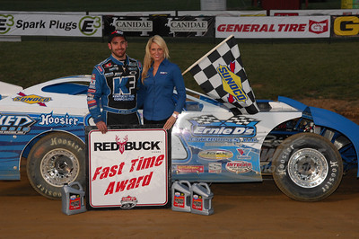 Josh Richards won the Red Buck Cigars Fast Time Award