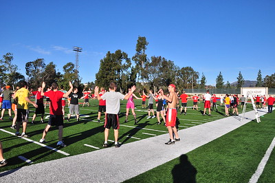 Rose Bowl - 2nd Day Dec. 30,2012