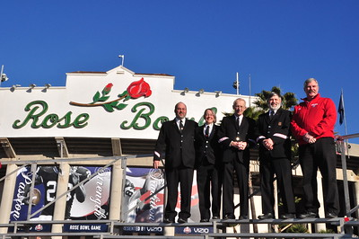 Rose Bowl Photo Shoot 12-31-2012