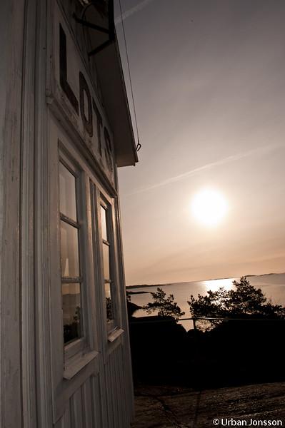 Soluppgång i öst.