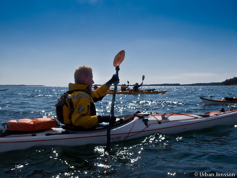 helt ok paddlar väder, med tendens till fostrande paddling...
