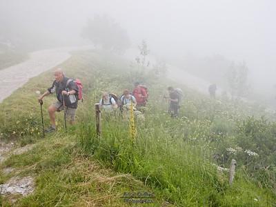 Montmin - Montée au Col de l'Aulp