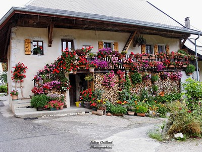 Montagne d'Entrevernes - Les Maisons