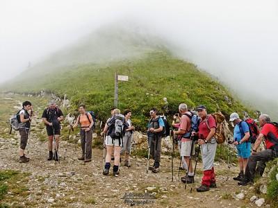 Mont Colombier - Col de la Cochette
