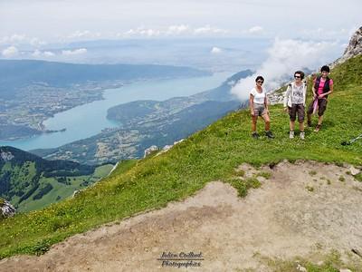 La Tournette - Le lac d'Annecy