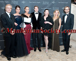 Peter Martins, Diana DiMenna, Julia Koch, Nicholas Luchsinger, Darci Kistler, Betsy Pitts, Nicholas Bos attend The School of American Ballet - 2012 Winter Ball on Monday, March 5, 2012 at David H. Koch Theater at Columbus Avenue and 63rd Street in Lincoln Center, New York City, NY  PHOTO CREDIT: Copyright © 2012 Manhattan Society.com by Christopher London
