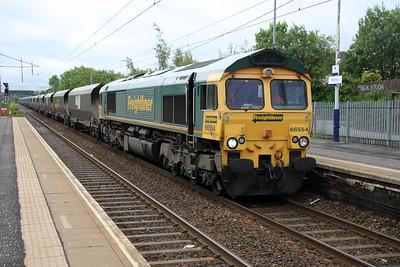 66554 0854/4s34 York-Hunterston passes Holytown.