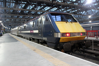 91125 at Glasgow Central.
