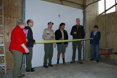 2012 Scout Hut Ribbon Cutting Ceremony
