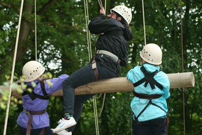 Scout Troop Night: Climbing - June 2012