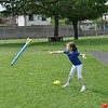 With skills like that she's a heptathlete in the making...