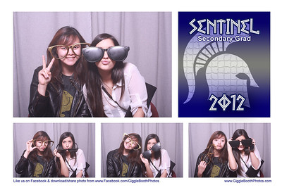 Sentinel Grad Party 2012