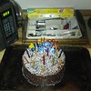Zach's birthday cake.