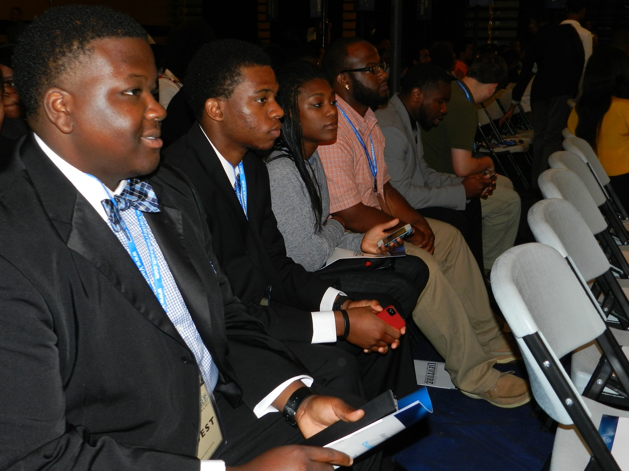 GWU students attend the Democratic National Convention in Charlotte, NC.