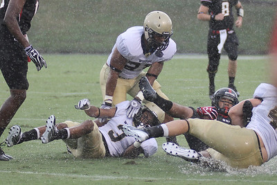 The Runnin' Bulldogs take on the Wofford Terriers for a rainy season opener on September 1, 2012