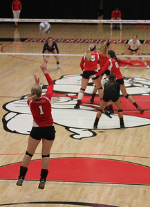Gardner-Webb Lady Bulldogs face off against Liberty Flames in a Red Wave game.