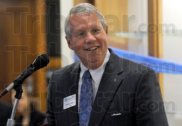 Welcome: Michael J. Alley, Chair, National Campaign Committe MARCH ON! The Campaign for Indiana State University welcomes those attending the Friday afternoon dedication of Federal Hall Scott School of Business.