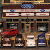 Tribune-Star/Jim Avelis<br /> First on race day: The Ford dealership in Larry Schute's town has a wide range of years available.