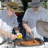 Jerry and Don's: Jerry Lankford and Don Harrah stir their Chili Cook-off creation during Saturday's annual event.