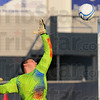 Tribune-Star/Jim Avelis<br /> Goal: Terre Haute South's goal keeper Carter Hall can only watch as the ball sails over his reach in early match action.