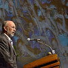 Tribune-Star/Jim Avelis<br /> Enrollment: The highest student enrollment since 1979 was one point of pride Indiana State University president Dan Bradley brought to light Wednesday during his annual speech.