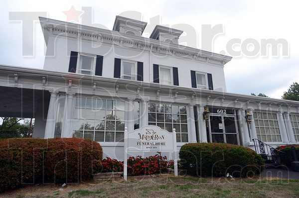 Tribune-Star/Jim Avelis<br /> On the list: The Mattox-Ryan funeral home on south 7th street in Terre Haute is one of three funeral homes in the area that will be closing. The parent company