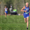 Tribune-Star/Joseph C. Garza<br /> Big lead: Indiana State University runner John Mascari nears the finish line to take first place in the Indiana Intercollegiate Cross Country meet Friday at the Lavern Gibson Championship Cross Country Course.