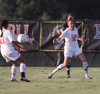 The Gardner-Webb Runnin' Bulldogs faced Charleston Southern at Greene-Harbison Soccer Stadium, Thursday, September 20, 2012