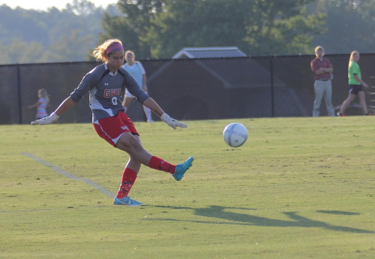 Goal Keeper Amy Schmitt (0)