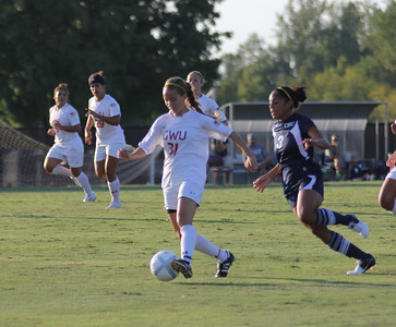 Addison Abee (31) attempts to make a goal.