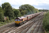 25 September 2012 :: 66151 is passing Hinksey working 6M48 Southampton to Halewood