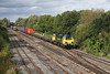 25 September 2012 :: 70007 southbound at Hinksey with 4O27 from Garston to Southampton