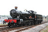 30 September 2012 :: GWR 4-6-0 No 7827 Lydham Manor at Kingswear