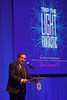 "Paul Zecchi, honorary chair, makes remarks.  The 2012 Illumination Gala, themed ""Trip the Light Fantastic"" and benefiting the Auraria Library, at The Denver Center for the Performing Arts, Seawell Ballroom, in Denver, Colorado, on Friday, Sept. 7, 2012.<br /> Photo Steve Peterson"