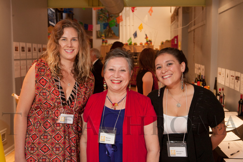 Mel Piazza, Maruca Salazar, and Maruquita Salazar.  Rojo Cancion, a benefit for Museo de las Americas, at Su Teatro in Denver, Colorado, on Friday, Sept. 14, 2012.<br /> Photo Steve Peterson