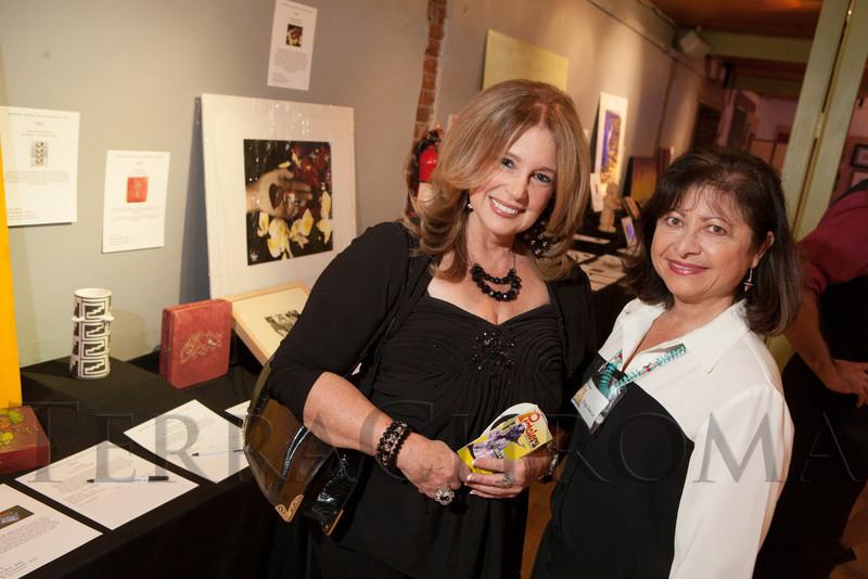 Museo board of trustees members:  Marta Welch and Olga Garcia.  Rojo Cancion, a benefit for Museo de las Americas, at Su Teatro in Denver, Colorado, on Friday, Sept. 14, 2012.<br /> Photo Steve Peterson