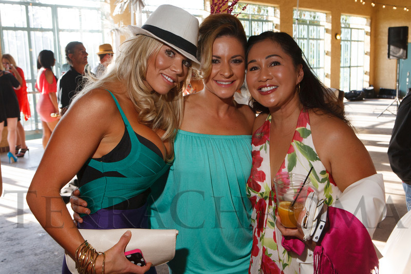 Christine Busick, Marnie Phillips, and Tess Kelly.  Havana Nights, a benefit for Children's Law Center, at the Denver City Park Pavilion in Denver, Colorado, on Saturday, Sept. 15, 2012.<br /> Photo Steve Peterson