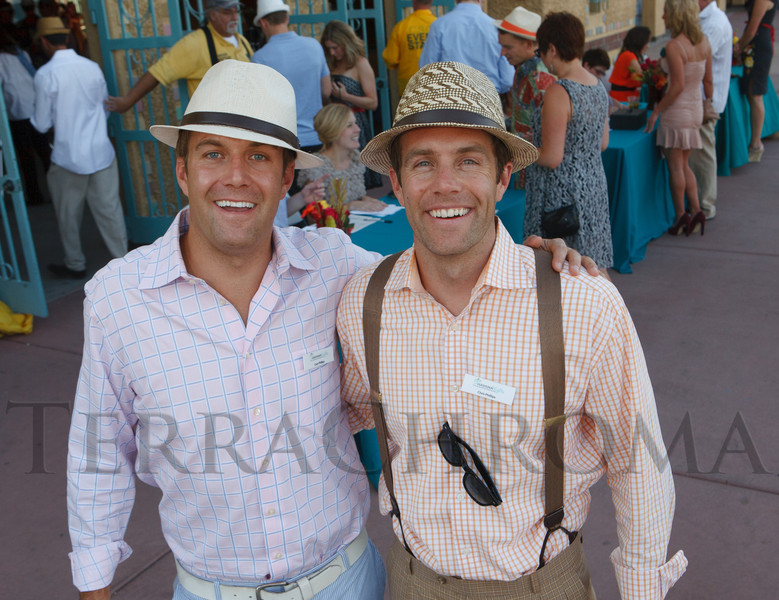 Event founders:  brothers Cory and Chris Phillips.  Havana Nights, a benefit for Children's Law Center, at the Denver City Park Pavilion in Denver, Colorado, on Saturday, Sept. 15, 2012.<br /> Photo Steve Peterson