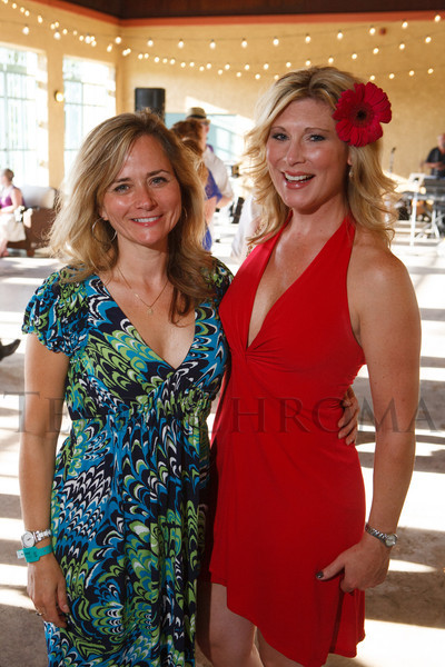 Laura Jean McBride and Rhonda Valladares.  Havana Nights, a benefit for Children's Law Center, at the Denver City Park Pavilion in Denver, Colorado, on Saturday, Sept. 15, 2012.<br /> Photo Steve Peterson