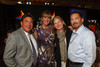 With Pinnacol Assurance:  Mark and Susan Andreatta, Gina Murphy, and Rob Norris.  Starfish and Dreams 'n All That Jazz gala, benefiting Arc Thrift Stores, at the Gold Crown Field House in Lakewood, Colorado, on Friday, Sept. 21, 2012.<br /> Photo Steve Peterson