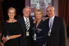 Flossie Wellman, William Wellman, Jr., and Sue Ellen Goss, and Paul Goss.  The Denver Silent Film Festival Opening Night Gala at the The Denver Center for the Performing Arts, Seawell Ballroom, in Denver, Colorado, on Friday, Sept. 21, 2012.<br /> Photo Steve Peterson