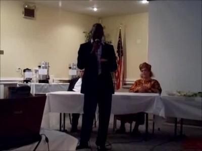 Serge Etele's 2012 Speaking Tour - Cameroon