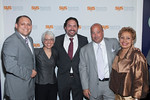 Drew Train, Donna Colonna, Aaron Padin, Andrew Zimmern, Carolyn Powell<br /> <br /> NEW YORK - Photos by Scott Wintrow/Gamut Photos