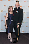 Col. & Mrs. Robert Golden<br /> <br /> NEW YORK - Photos by Scott Wintrow/Gamut Photos